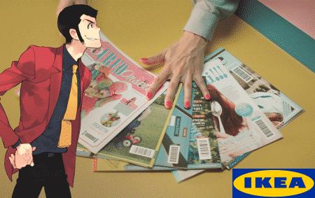 Ikea: copertine a prova di Lupin!